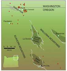 Oregon Tsunami Map by Living With Earthquakes In The Pacific Northwest
