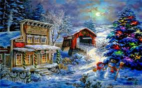 wallpaper desktop winter scenes free christmas scenes wallpaper desktop wallpaper xmas scenes fresh