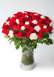 Red Flowers In A Vase Bespoke Bouquet U2013 Online Florist