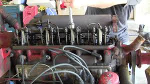 ford jubilee naa tractor engine rebuild part 2 valve cover