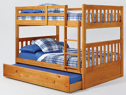 Perth Full Over Queen Bunk Bed With Trundle And Staircase Queen - Perth bunk beds