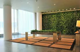 a garden oasis in the lobby the new york times