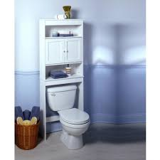 bathroom tall espresso open storage for toilet and contemporary