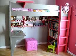 chambre fille avec lit mezzanine chambre fille lit mezzanine gagner de place grace a un lit mezzanine