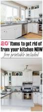 20 things to declutter from the kitchen clean and scentsible