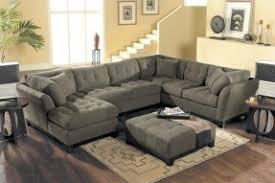 Suede Sectional Sofas Suede Sectional Couch Foter
