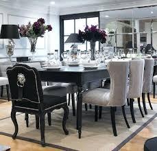 black dining room set black dining table impressive black dining room table set dining