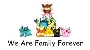 chibi requests 4 eeveelution we are family forever