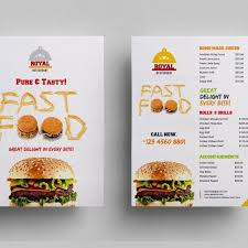 menu flyer template food menu flyer template 000307 template catalog
