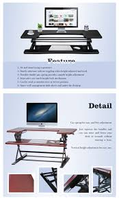 Adjustable Height Laptop Stand For Desk by 2017 Innovative Modern Office Standing Desk Preassembled