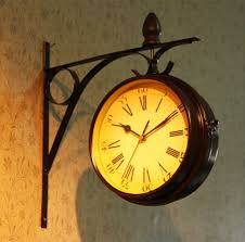 popular doubled face wall clock buy cheap doubled face wall clock