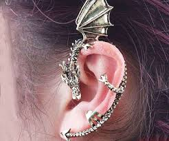 ear sense earrings wrap earring illusions and dragons