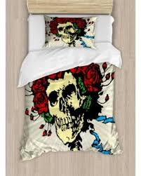 tattoo bedding queen spring savings on rose twin size duvet cover set tattoo art style