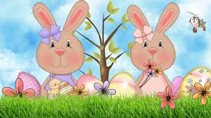 easter bunny backgrounds free download wallpaper wiki