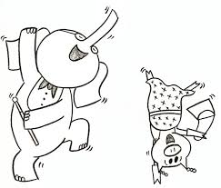 coloring pages elephant and piggie color and create your own story with elephant and piggie from mo willems