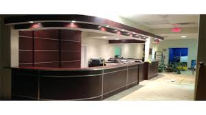 desk design ideas office design we like the shape of this reception desk as well