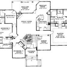 Split Bedroom Plan Eplans Country House Plan Split Bedrooms And Open Floor Plan Split