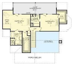 master suites floor plans three master suites 68440vr architectural designs house plans