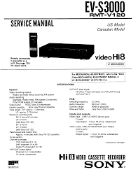 sony evs3000 service manual immediate download