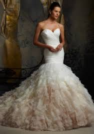 designer wedding dress morilee madeline gardner bridal asymmetrically draped net wedding