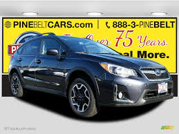 grey subaru crosstrek 2017 2017 dark gray metallic subaru crosstrek 2 0i premium 116944410