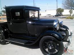 ford model a closed cab pick up