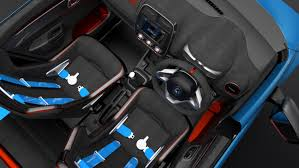 renault kwid interior seat renault kwid racer and renault kwid climber premiered at new delhi
