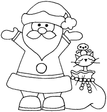 preschool christmas coloring pages printable pictures 10973