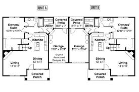 duplex plans with garage in middle house plan duplex plans with garage in the middle open floor falcon