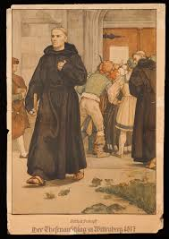 thesis of martin luther wall charts history and european identity luther s posting of his theses in wittenberg