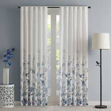 Navy Blue Sheer Curtains Buy Blue Sheer Curtains From Bed Bath Beyond