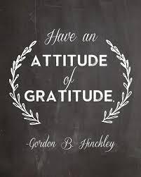 an attitude of gratitude gordon b hinckley free