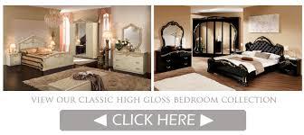 high gloss italian bedroom furniture em italia