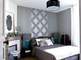 mur idée déco papier peint chambre adulte meilleure décoration de