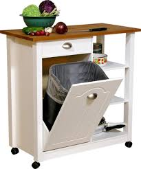 kitchen island backwithtrash kitchen island with trash storage