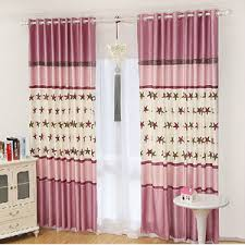 Navy And Pink Curtains Popular Polyester Print White Navy Red Star Curtains