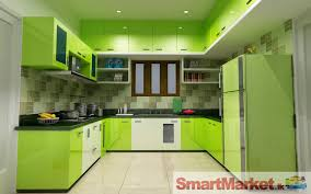 Pooja Room In Kitchen Designs by European Pantry Greenery Dreen