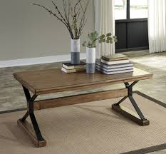 Ashley Sofa Table by Flextura Coffee Table By Ashley Furniture T061 Crossbuck Pattern