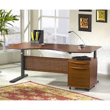 Motorized Adjustable Height Desk by U Shaped Ergonomic Height Adjustable Desks Wayfair Motorized