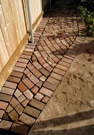 Backyard Walkway Ideas Terrace Traditional Patio Brick Patterns Walkway Ideas For Your