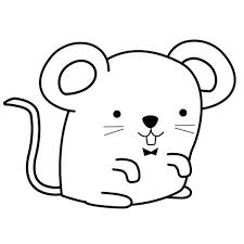 imagenes de ratones faciles para dibujar dibujo para colorear e imprimir
