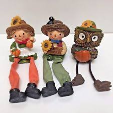 thanksgiving figures resin thanksgiving fall décor figurines ebay