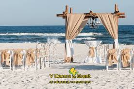 beach wedding decorators in chennai tidal treasures