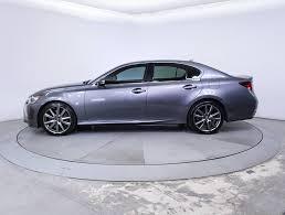 lexus gs 350 for sale 2014 used 2014 lexus gs 350 f sport sedan for sale in miami fl 85140