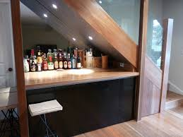 ideas for space under stairs under the stair ideas with mini bar