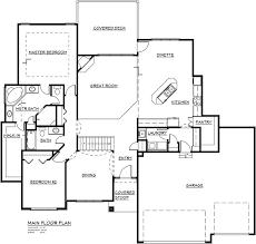 Custom Floor Plans For Homes The 1911 Floor Plan Al Belt Custom Homes Omaha Nebraska
