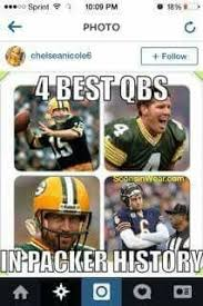 Packer Memes - every player on the packers is better than any player of the bears