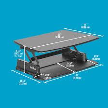Standard Desk Height Us Adjustable Height Desk Pro Series Varidesk Standing Desks