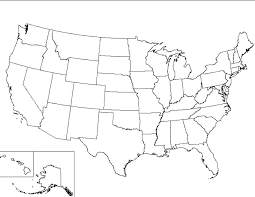 map of us states empty us states map blank template united states map template blank