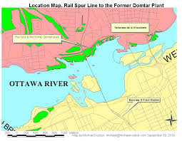 Map Of Ottawa Canada by Michael Kostiuk For Councillor River Ward Use The Prince Of